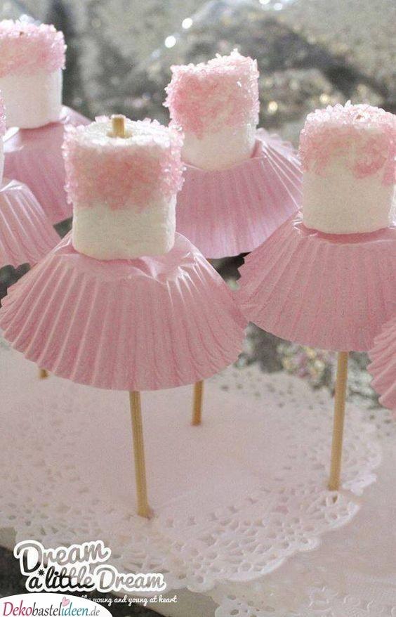 Süße Ballerinas - Babyparty Essen für Mädchen