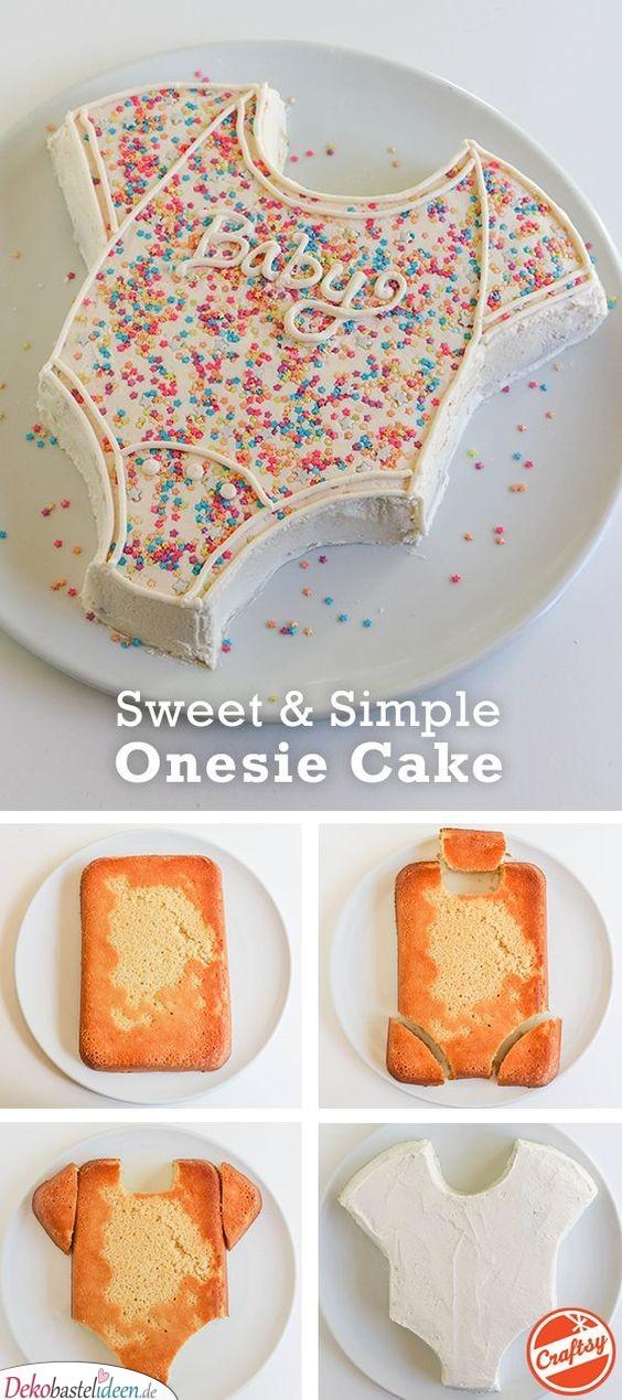 Süß und einfach – Strampler-Kuchen