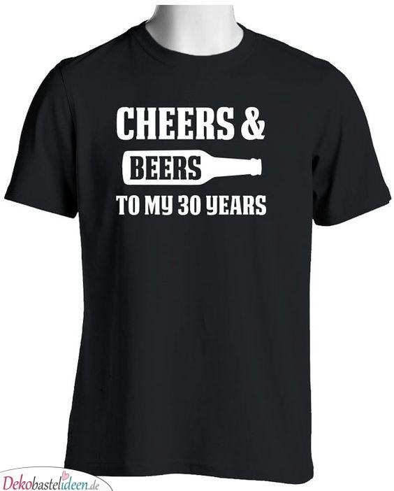Glückwünsche und Bier – auf meine 30 Jahre