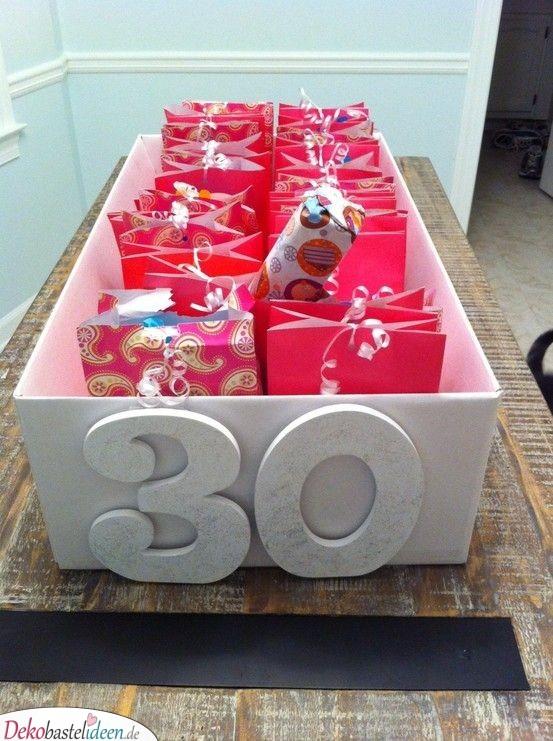 Eine Schachtel voller Geschenke - Geschenkideen