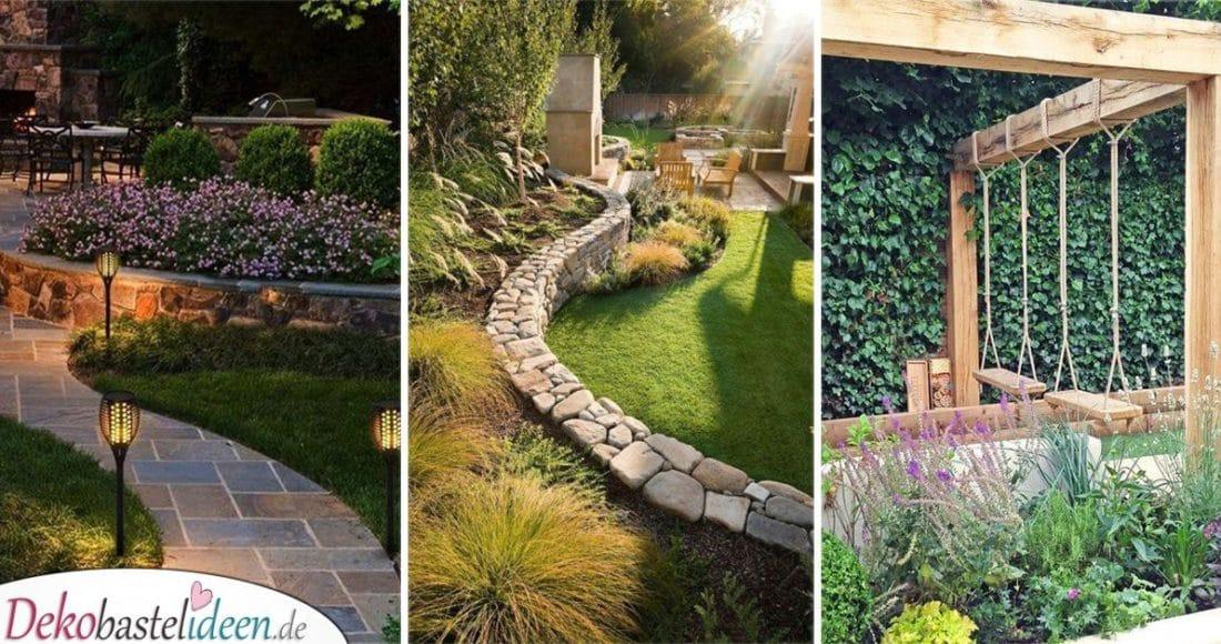 25 super Garten gestalten Ideen - Garten gestalten mit ...