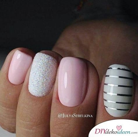 Naughty and Fresh - Nail Design for Short Nails