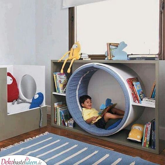 Eine Leseecke - Kinderzimmer Deko