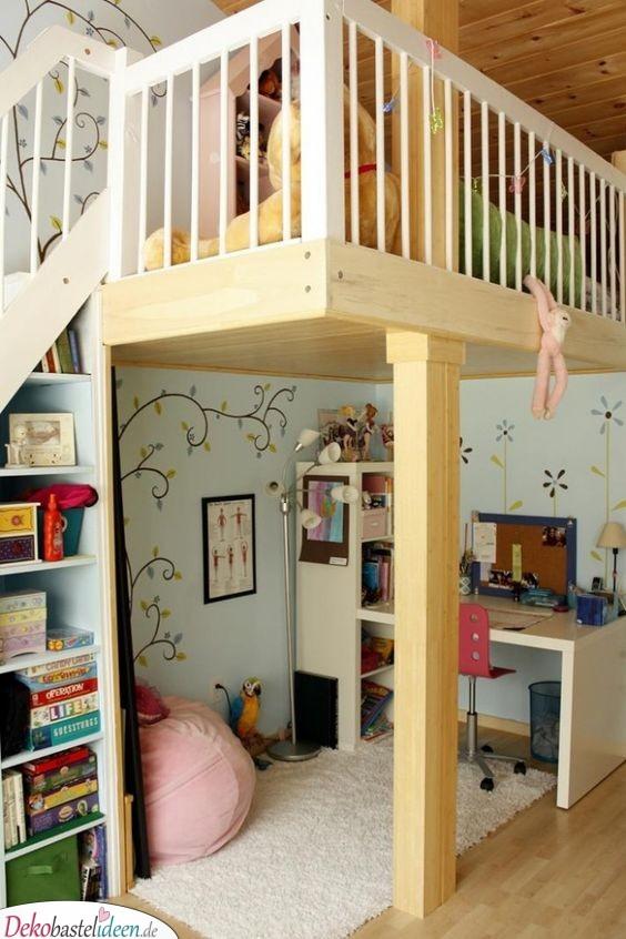 Blumen und Bäume - Kinderzimmer Ideen
