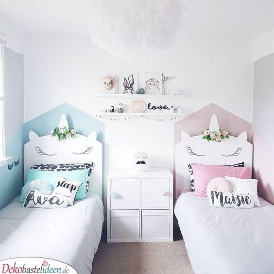 Mädchenzimmer Ideen – Einhornbetten