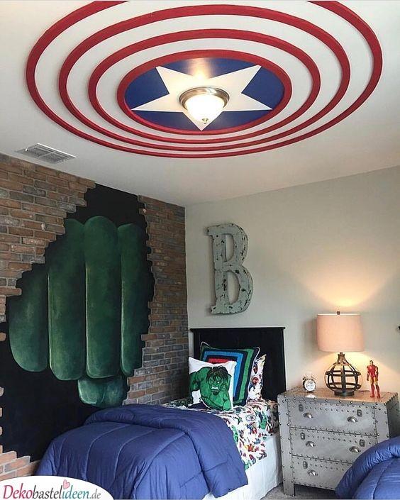 Superhelden-Zimmer für kleine Helden