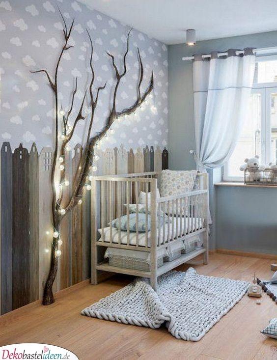 Wunderschöne Kinderzimmer Ideen für kleine Zimmer – Lichterbaum