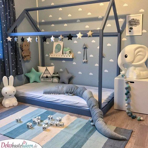 Ein Sternenhimmel - Babyzimmer Ideen