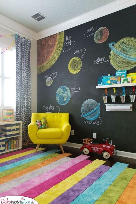 Eine Riesentafel - Kinderzimmer Wanddeko