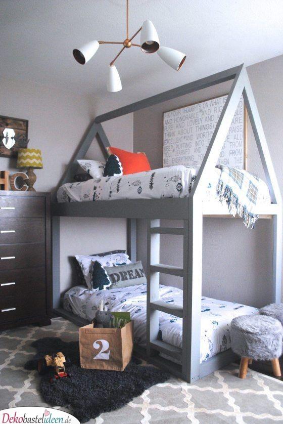 Schlicht in Grau – Tolle Inspiration für Jungenzimmer