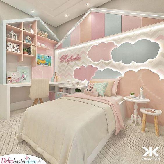Große Wolken für ein einzigartiges Kinderzimmer