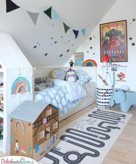 Kinderzimmer Ideen für kleine Zimmer – Von Allem etwas