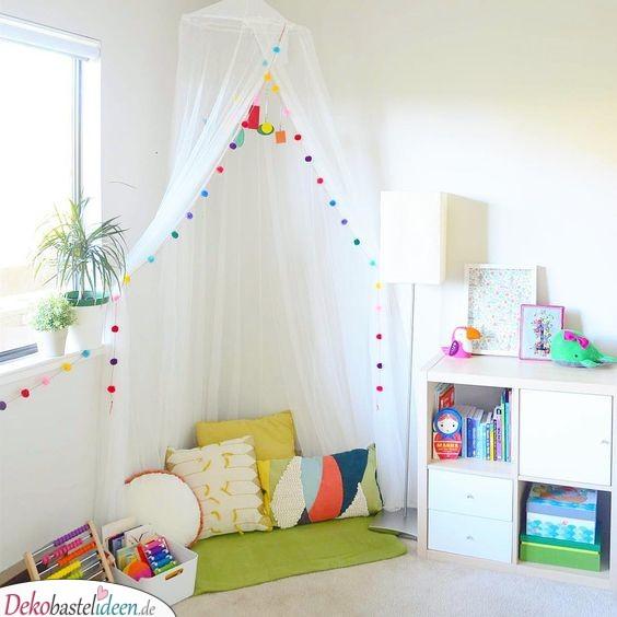 Ein Spielzelt - Kinderzimmer Ideen für kleine Zimmer