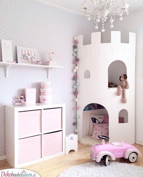 Prinzessin im Schloss - Babyzimmer Ideen