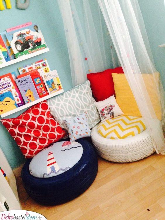 Eine Spielecke - Kinderzimmer Deko