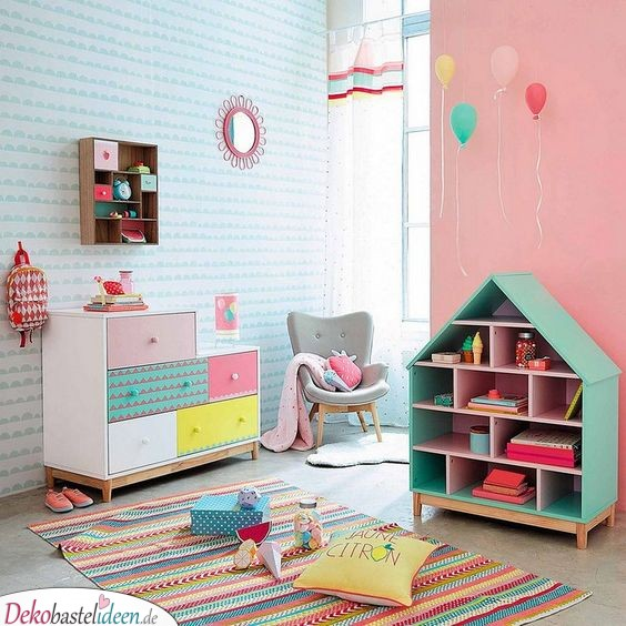 Color and Easy - Low and Easy Kids Room Ideas