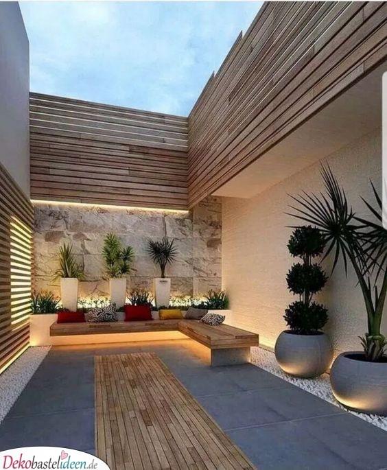 Minimalistisch und einfach - Die Balance finden beim Garten gestalten
