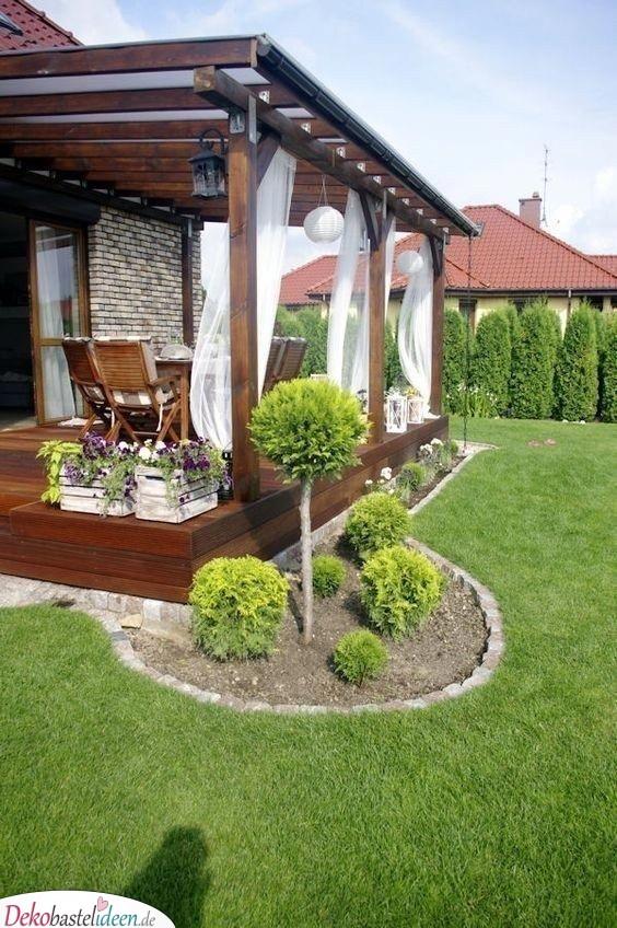Eine verträumte Veranda - Garten gestalten mit wenig Geld