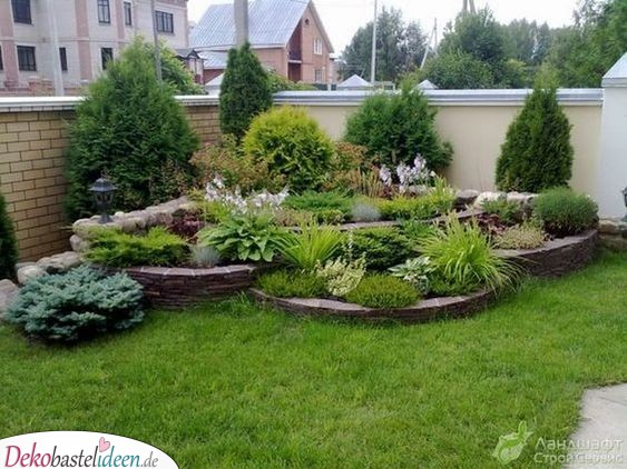 Large herb - Garden shaped with little money