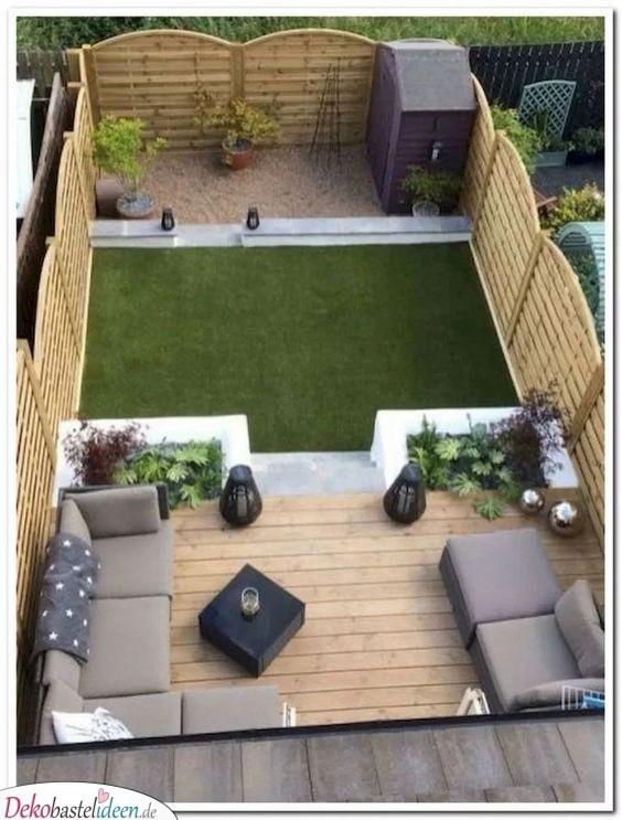 Begrenzter Raum – Ideen für kleine Gärten