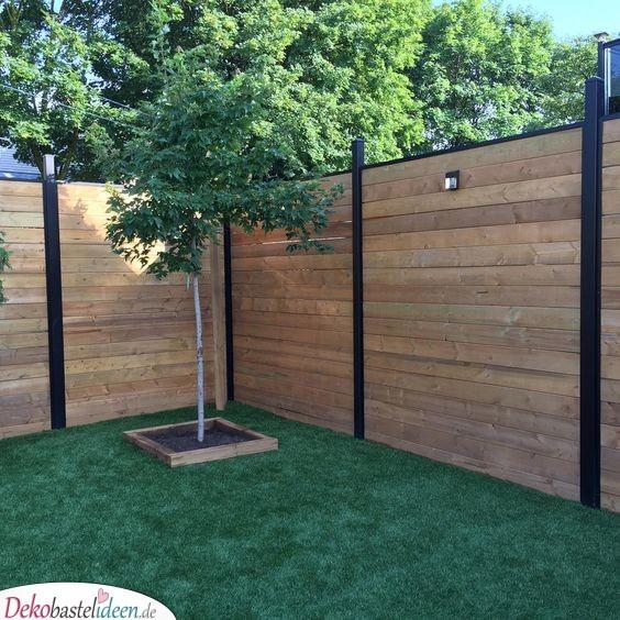 Einfache Gartengestaltung für etwas mehr Privatsphäre