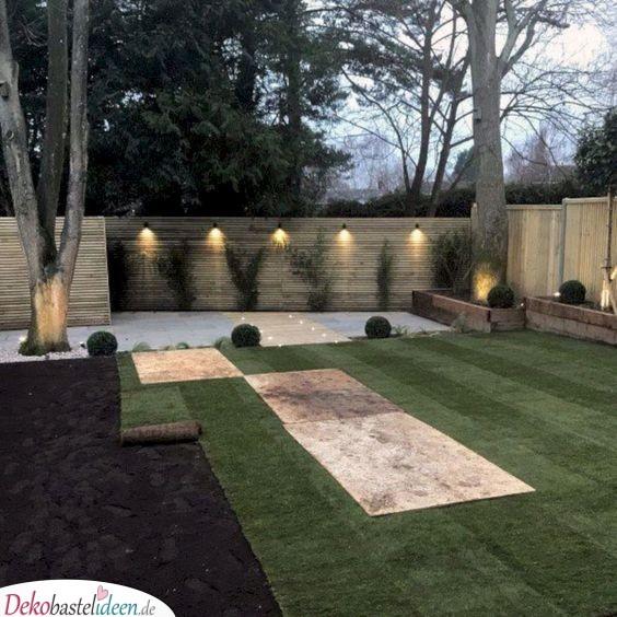 Moderne Holzzäune - Garten gestalten Ideen