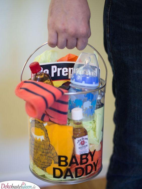 Papas Überlebensausrüstung - Babyparty Geschenke