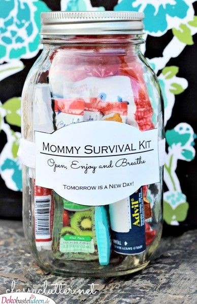 Mamas Survival Gear - Baby Party Gifts