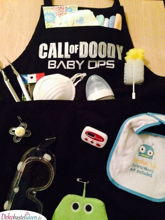 Baby Party Gifts - Fighting Equipment for Dad
