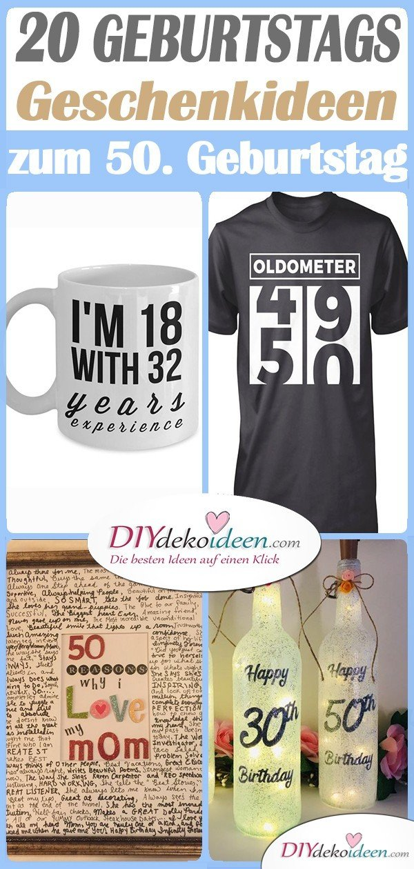 20 Original Gifts for 50th Birthday - Gift Ideas for 50.