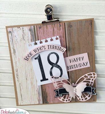 Klemmbrett zum Geburtstag - Geschenkideen