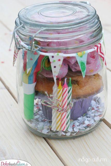 Geburtstag im Glas - Geschenk für beste Freundin zum Geburtstag