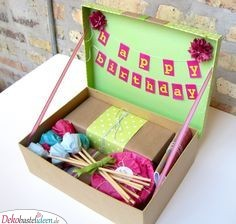 Birthday Box - Gift Ideas 18. Birthday Tag