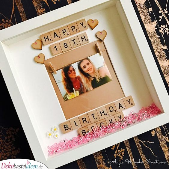 Geschenke zum 18. Geburtstag – Bilderrahmen
