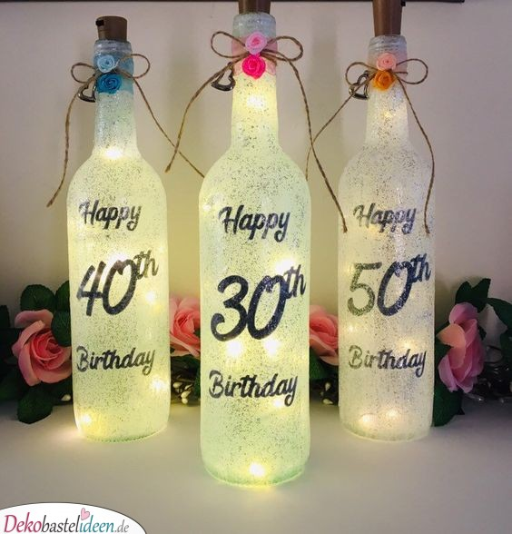 Wonderful Lamps for the 30th Birthday - Gift Ideas