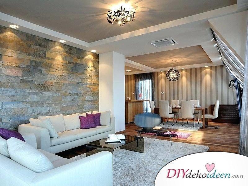 Stilvoll die Wohnung beleuchten mit verschiedenen Lichtquellen