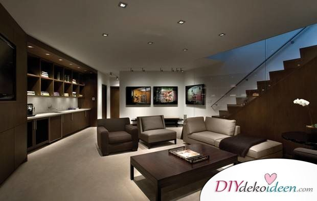 Residential lighting - recessed lighting and illuminated images