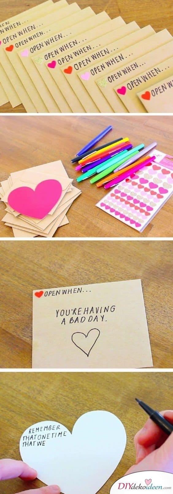 Öffne, wenn... - Geschenk für gute Freundin