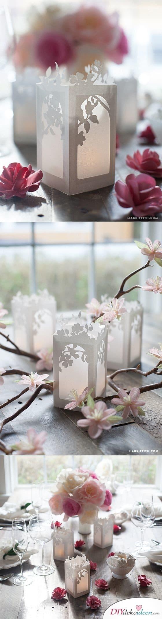 Blühende Papierlaternen – wunderschöne Laternen
