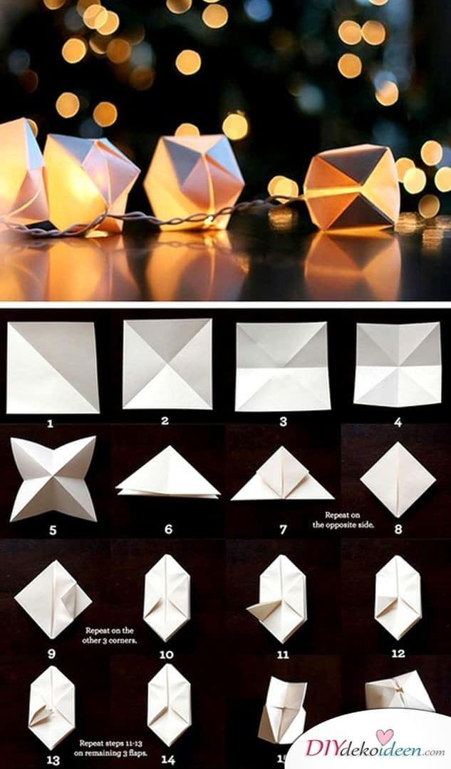 DIY Lichterkette für Hochzeiten