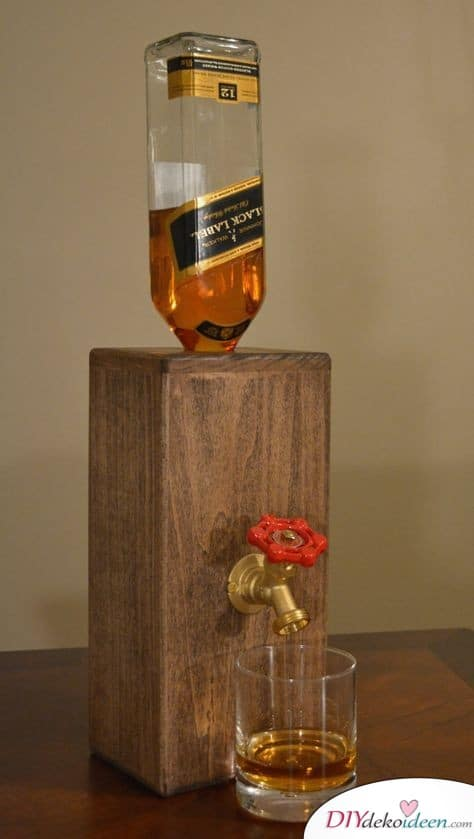 Ein Getränkespender für Spirituosen – Geschenkidee