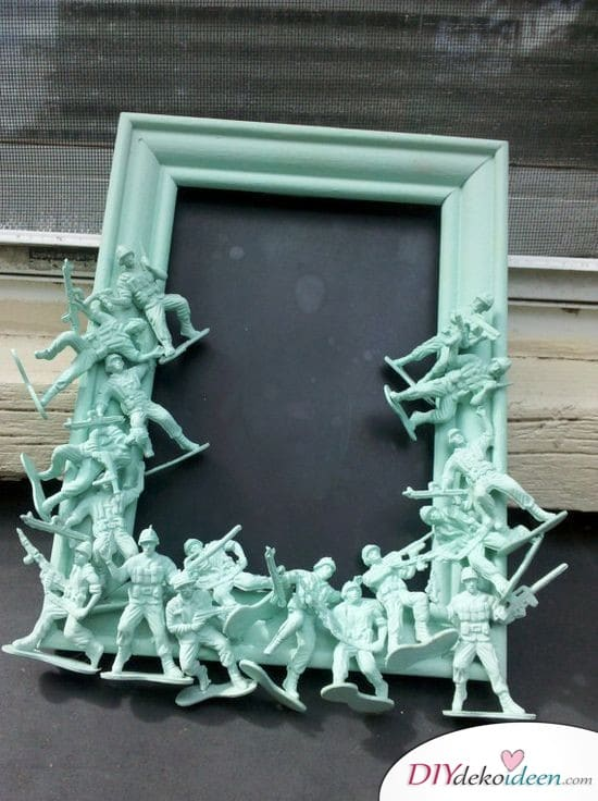 Soldaten-Bilderrahmen - Geschenke für Männer
