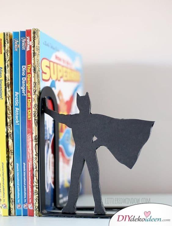 Batman-Buchstütze – Geschenkidee zum Geburtstag