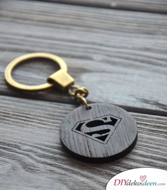 Gifts for Men - Superman Keychain