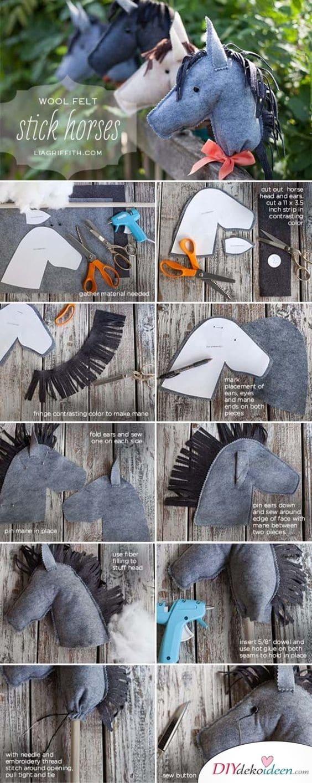 Steckenpferd - DIY Geschenke für Kinder