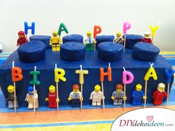 Lego-Kuchen - Geschenke für 11 jährige Jungs
