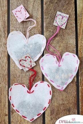 Cold Heart Tea Bag - Gift for Freundin Self-Making