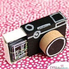 Fotoalbum in der Kamera - Geschenkideen für beste Freundin