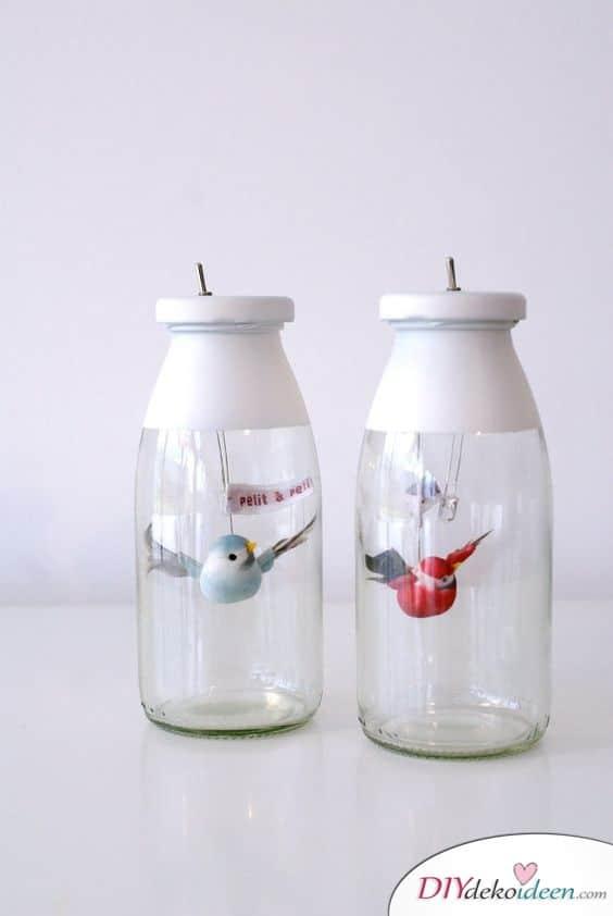 Süße Vögelchen im Glas - Geschenk für beste Freundin