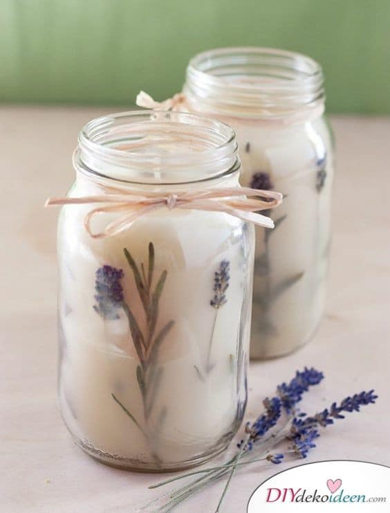 Scented candles - best friend gift
